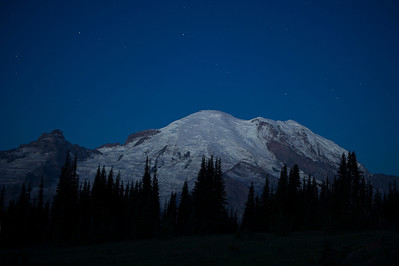 Stars Over Mt Rainier