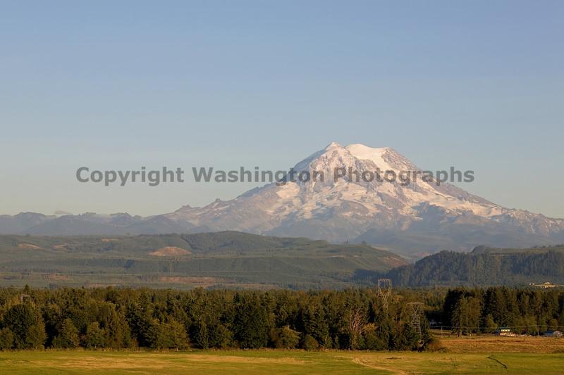 Mt Rainier from Graham 101