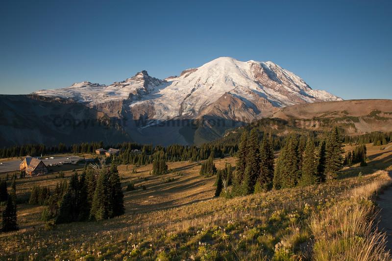 Mt Rainier Sunrise Autumn 106