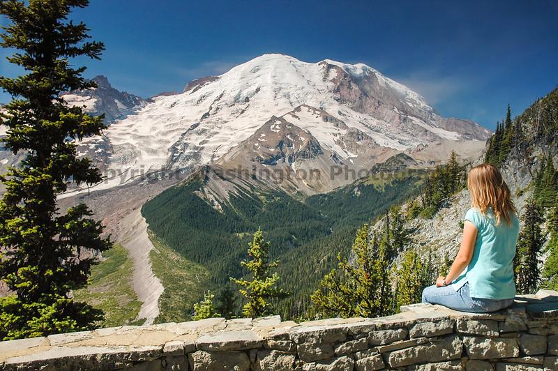 Mt Rainier Trail Burroughs Mountain 11