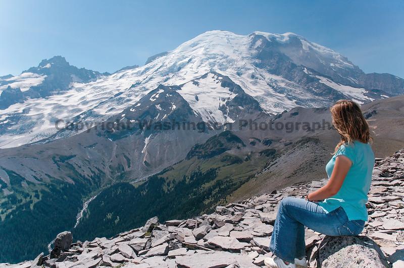 Mt Rainier Trail Burroughs Mountain 31