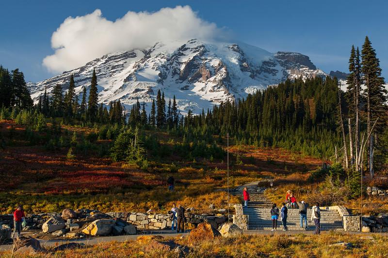 Mt Rainier Paradise Snow 126