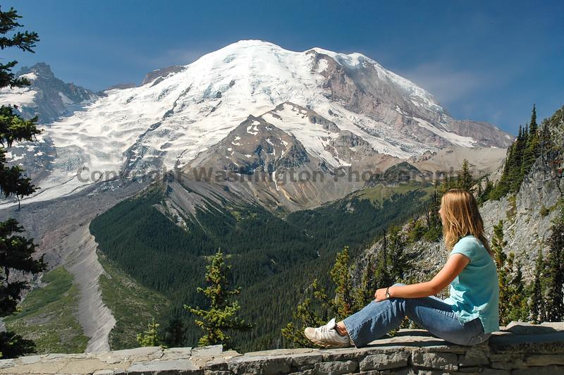 Mt Rainier Trail Burroughs Mountain 10