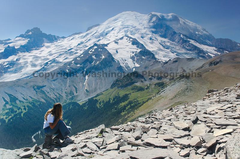 Mt Rainier Trail Burroughs Mountain 28