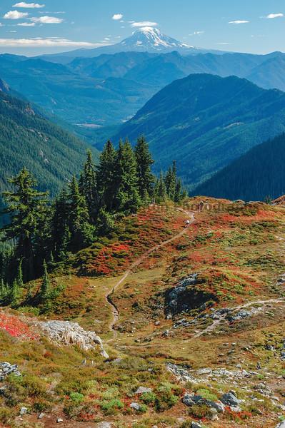 Mt Rainier Pinnacle Peak Trail 14