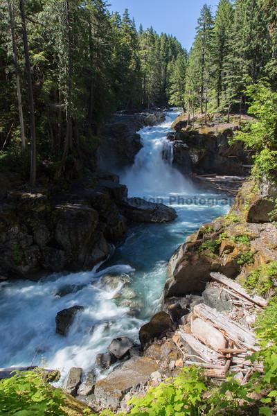 Mt Rainier Silver Falls 10