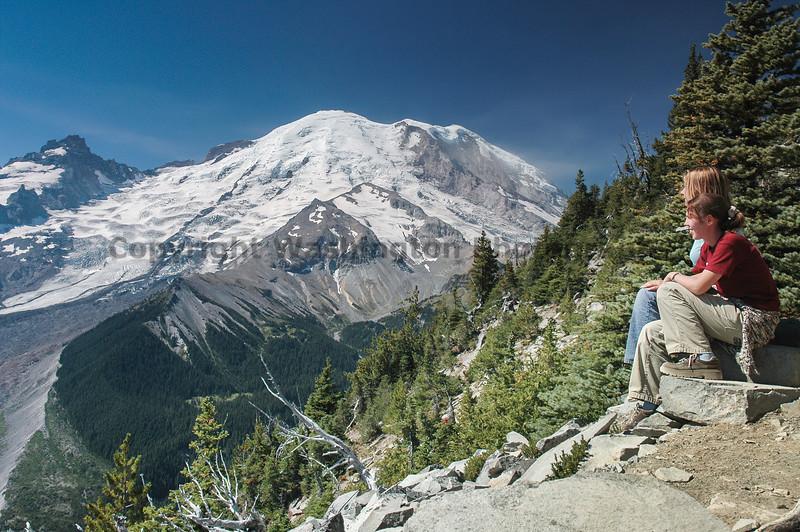 Mt Rainier Trail Burroughs Mountain 15