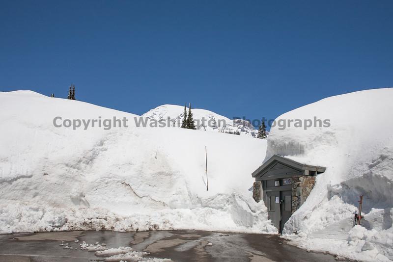 Mt Rainier Paradise Winter 102