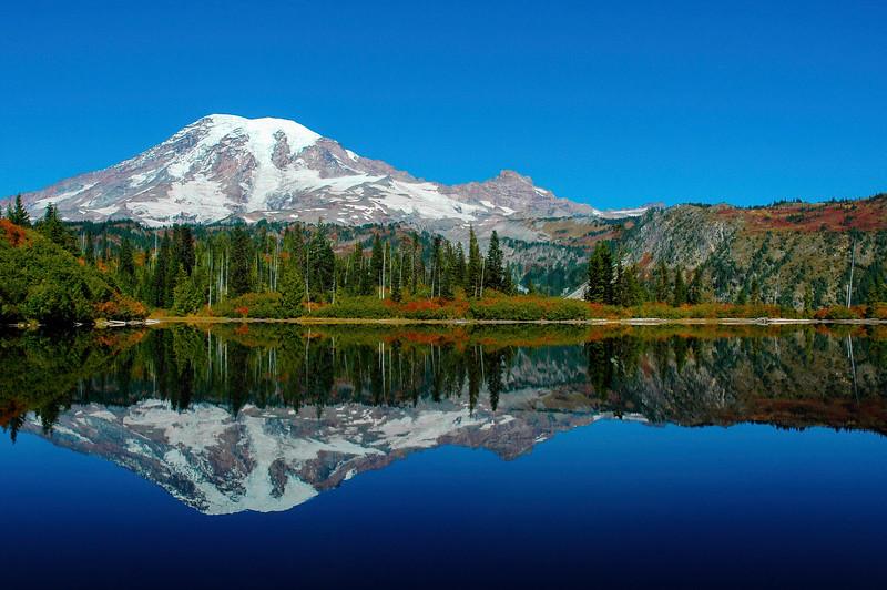 Mt Rainier Bench Lake Trail 18