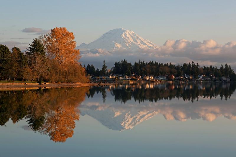 Mt Rainier Lake Tapps 105