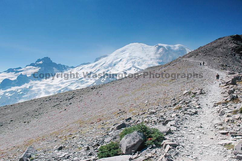 Mt Rainier Trail Burroughs Mountain 24