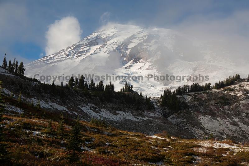 Mt Rainier Paradise Snow 114