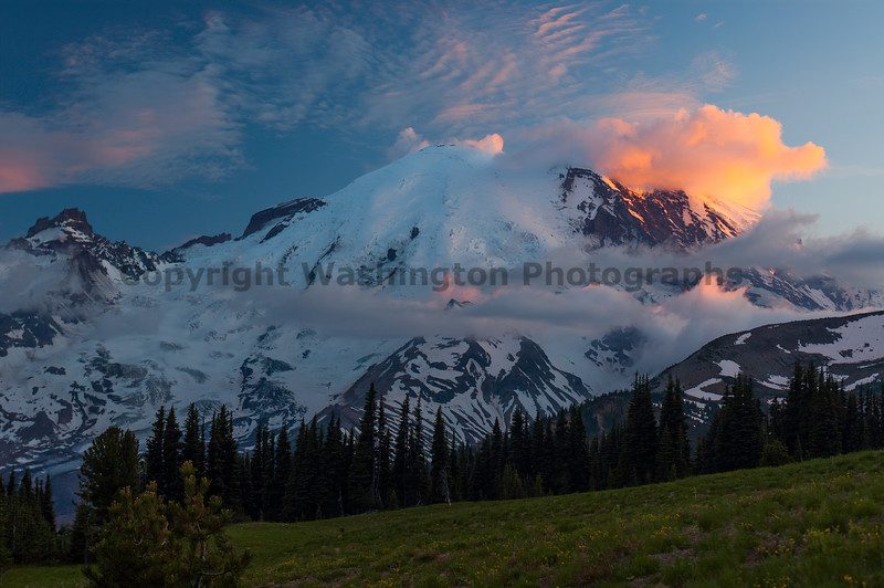 Mt Rainier Sunrise 10