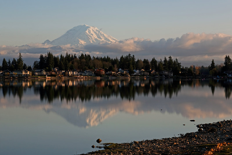 Mt Rainier Lake Tapps 104
