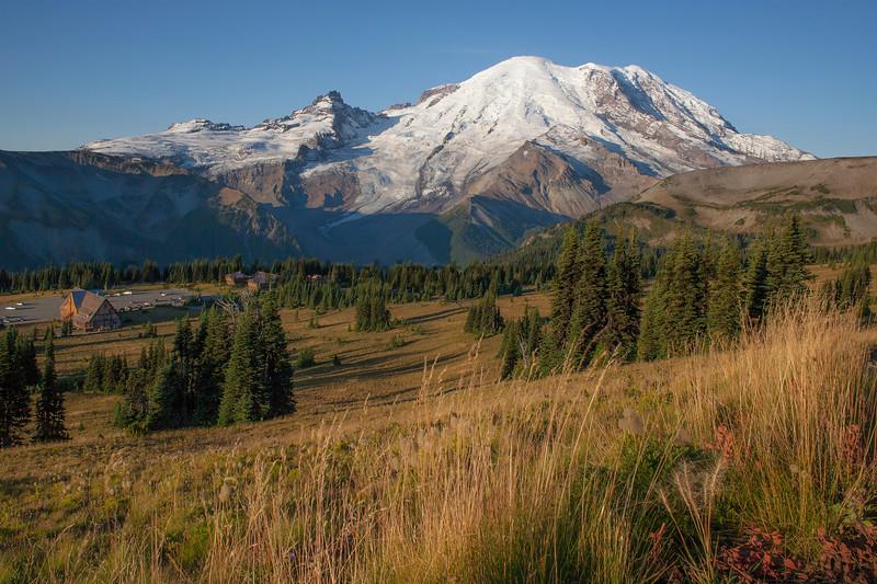 Mt Rainier Sunrise Autumn 108