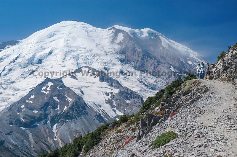 Mt Rainier Trail Burroughs Mountain 21