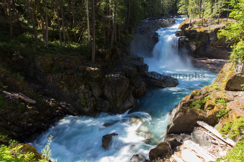 Mt Rainier Silver Falls 11
