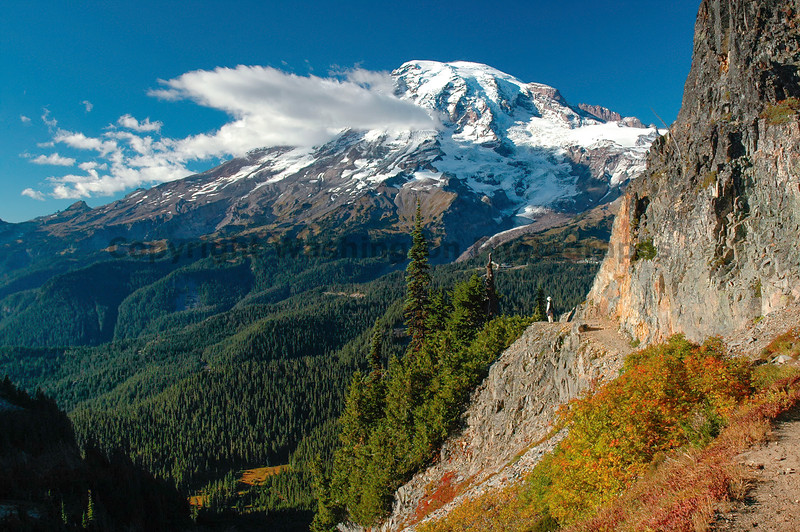 Mt Rainier Pinnacle Peak Trail 37