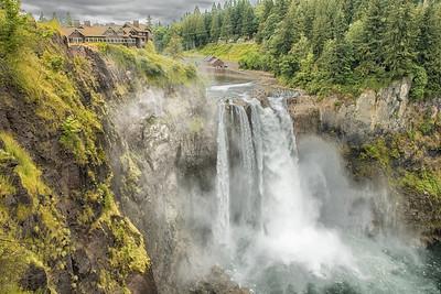 Snoqualmie Falls, Washington State, USA