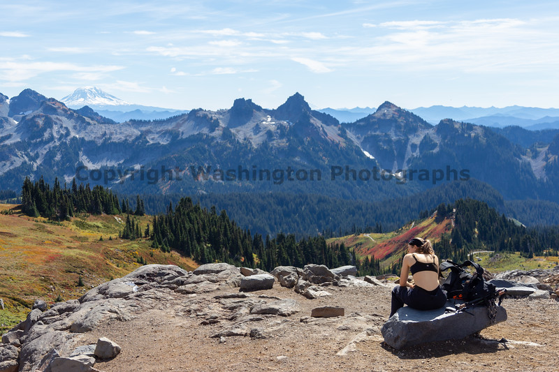 Mt Rainier Paradise Autumn 217