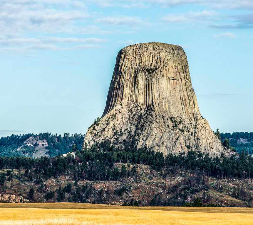 Devils Tower-First National Monument 1956