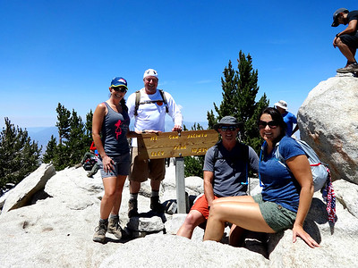 Mt San Jacinto Hike, Palm Springs CA July 24, 2016