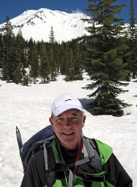 My picture at Bunny Flat at the end of our adventure on Wednesday about noon.