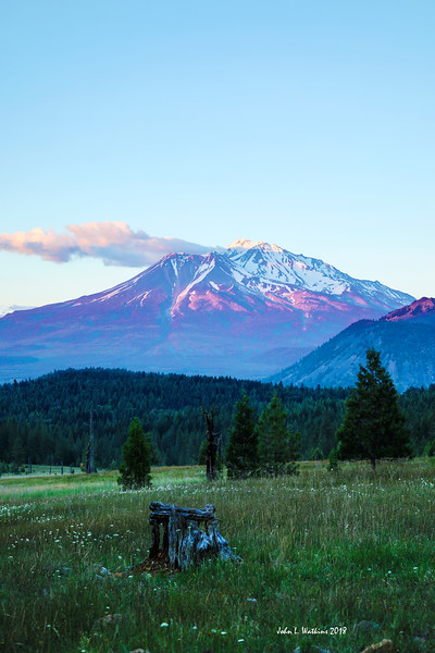 Mt. Shasta Sunset