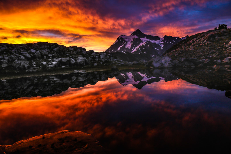 Mt. Shuksan Sunrise
