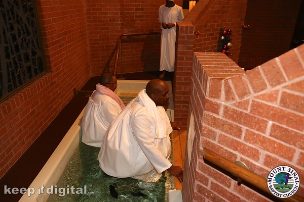 January 2016 Lords Supper Baptism