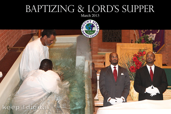 Mar 2013 Bapt and Lords Supper