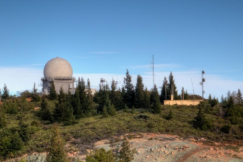 FAA radar dome facility.  Restricted area.