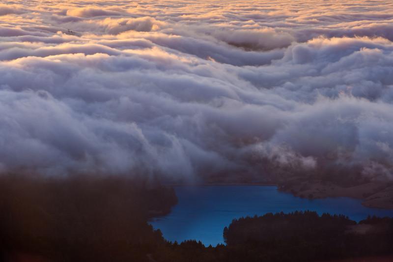 Bon Tempe lake.