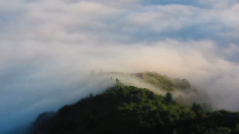 "Timelapse of 24 hours of Fog as seen from the Gardner Fire Lookout on the East Peak of Mt. Tamalpais, August 1, 2011.   Shot with a Canon S95 in Miniature timelapse mode (20x normal speed) using a Gorillapod wrapped around the lookout railing.<br /> <br /> For more information about the Marin County volunteer Fire Lookout program, see:  <a href=""http://runtrails.com/marinlookouts/"">http://runtrails.com/marinlookouts/</a>"