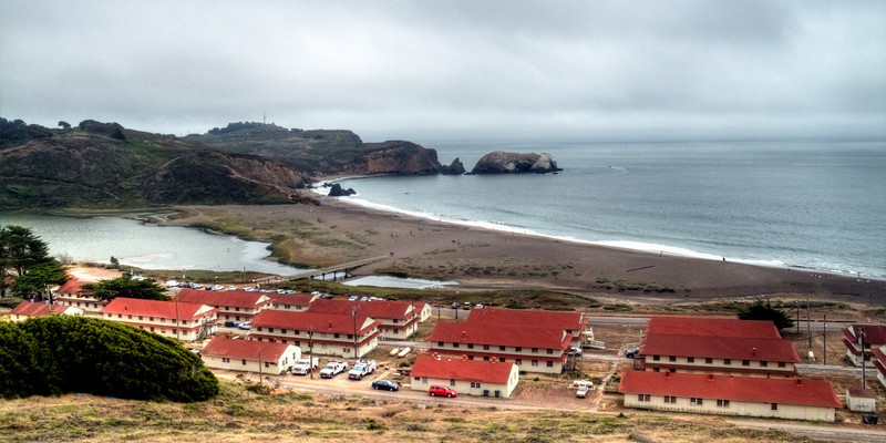 Rodeo Beach and Headlands Center.