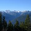Looking west towards Mt. Constance.
