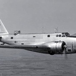 Vintage Photo of a B18 Bomber