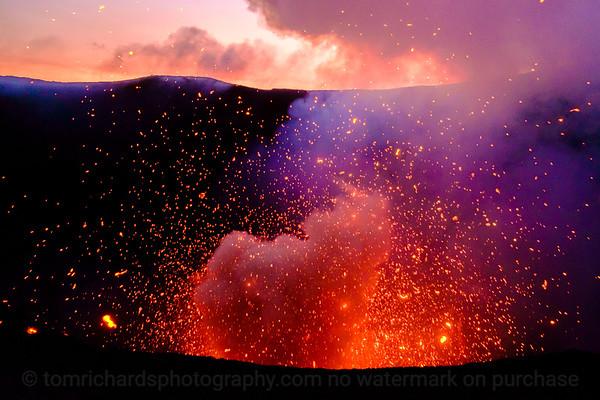 Vanuatu, Tanna, Mt Yasur Volcano 2