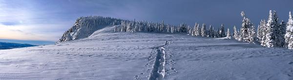 Mt. Harrison Snowshoe Trail