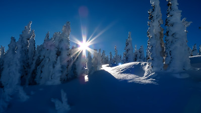 Seems a shame to be heading down on such a bluebird day.