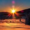 Full sunrise.