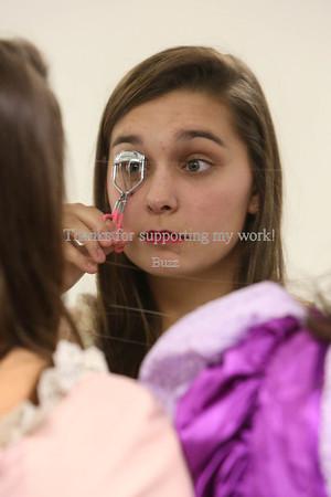 Makeup and Pre-show