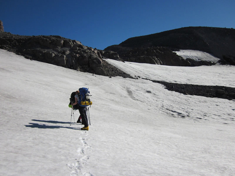 Heading towards high camp.