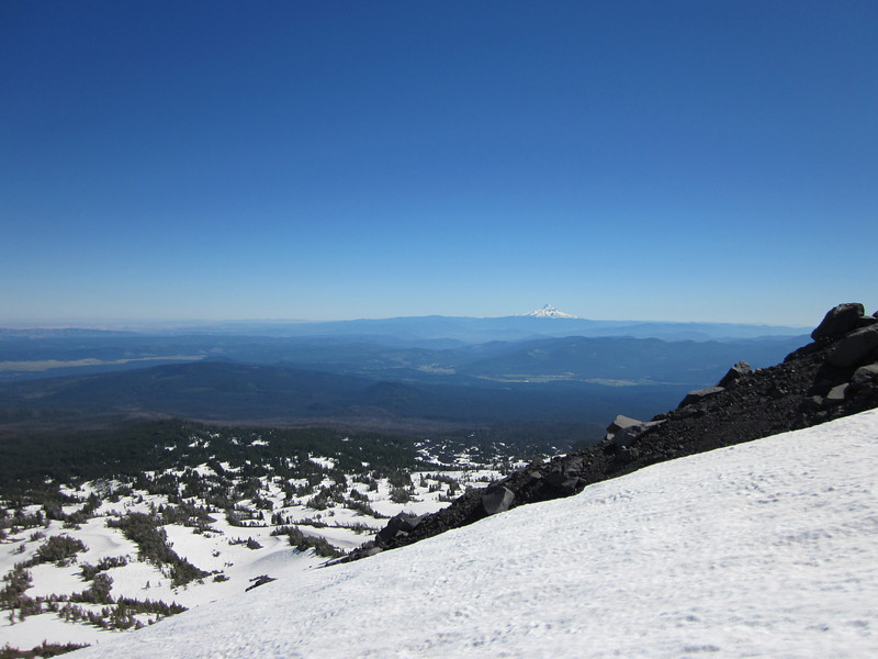 View to the South West, Mt. Hood, again…