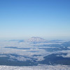 We are now high enough to see something other than Mt. Hood, here's Mt. St. Helens.