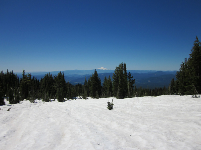 Looking South West at Mt. Hood.
