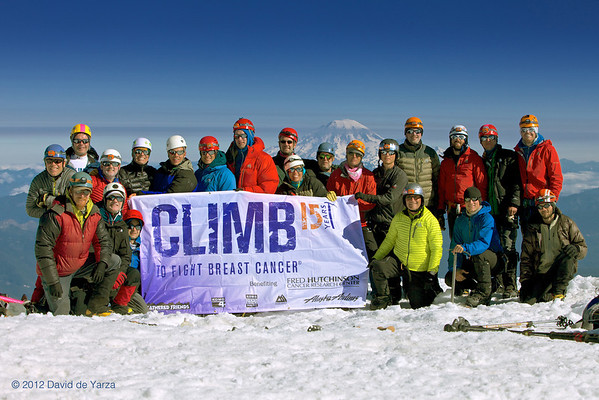 Mt Adams 2012 Climb to Fight Breast Cancer