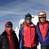 2011 Mt. Hood Summit Survivor Team: Kristin Peterson, Lynn Lippert and Nikki Milonas.