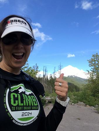 Mt Hood 2014 Climb to Fight Breast Cancer