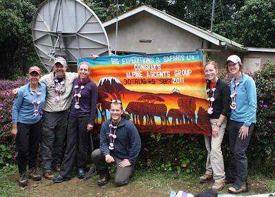 Mt Kilimanjaro 2011, Team 2 Climb to Fight Breast Cancer